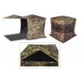 Палатка-куб летне-зимняя, укрытие CUBE (patent USA) 4-х гранная, размер 156*156*170 см, без дна, цвет лес