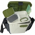 Ящик для зимней рыбалки AQUATECH с боковыми карманами ( + мормышечница в комплекте)