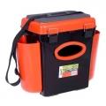 Ящик для зимней рыбалки Helios Fishbox 10 л оранжевый